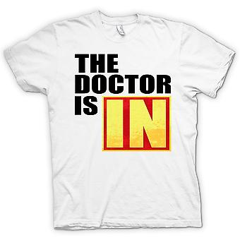 Mens T-shirt - The Doctor Is In