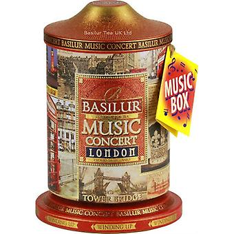Basilur Tea Personal Collection Music Concert London Loose Tea In Metal Tin Caddy 100G