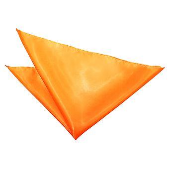 Fluoreszierend Orange Plain Satin Tasche Platz