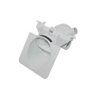 Filtro de bomba de máquina de lavar roupa Whirlpool