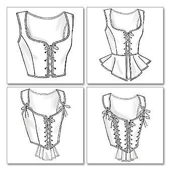 Misses' Corset-AA (6-8-10-12) -*SEWING PATTERN*