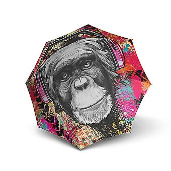 Doppler Modern Art Magic Mini Monkey Regenschirm Doppel Automatik
