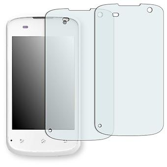 Mobistel Cynus E1 display protector - Golebo crystal clear protection film