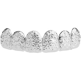 One size fits all top Grillz - NUGGET silver