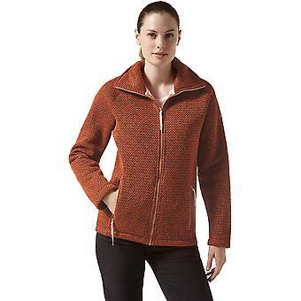 Las mujeres Craghoppers Nairn Full Zip Textured cubierta con aislamiento