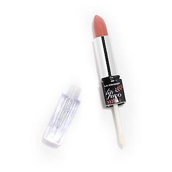L.A. Colors Duo Lip Gloss Lipstick and Clarity (Makeup , Lips , Lipsticks)
