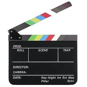 TRIXES Film Directors Klappe – farbige Tafeln