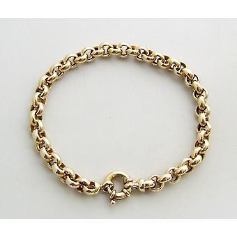 14 karaat gouden jasseron armband