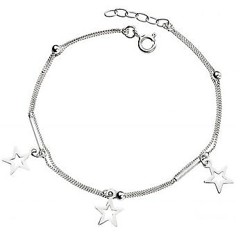 Beginnings Star Charm Curb Bracelet - Silver