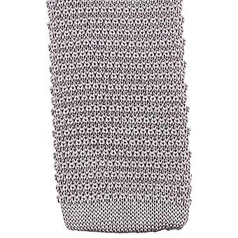Knightsbridge cravates tricotées Tie - Silver