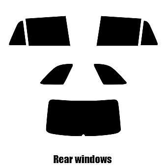 Pre cut window tint - Skoda Fabia Estate - 2014 and newer - Rear windows
