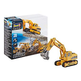 Revell Control 23496 Mini RC Bagger, gelb