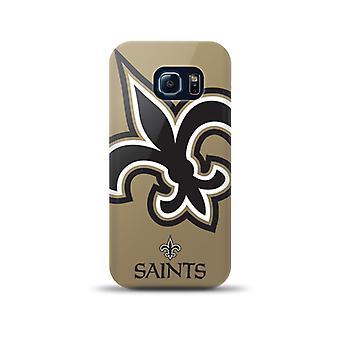 Mizco Sports NFL Oversized Snapback TPU Case for Samsung Galaxy S6 Edge (New Orl