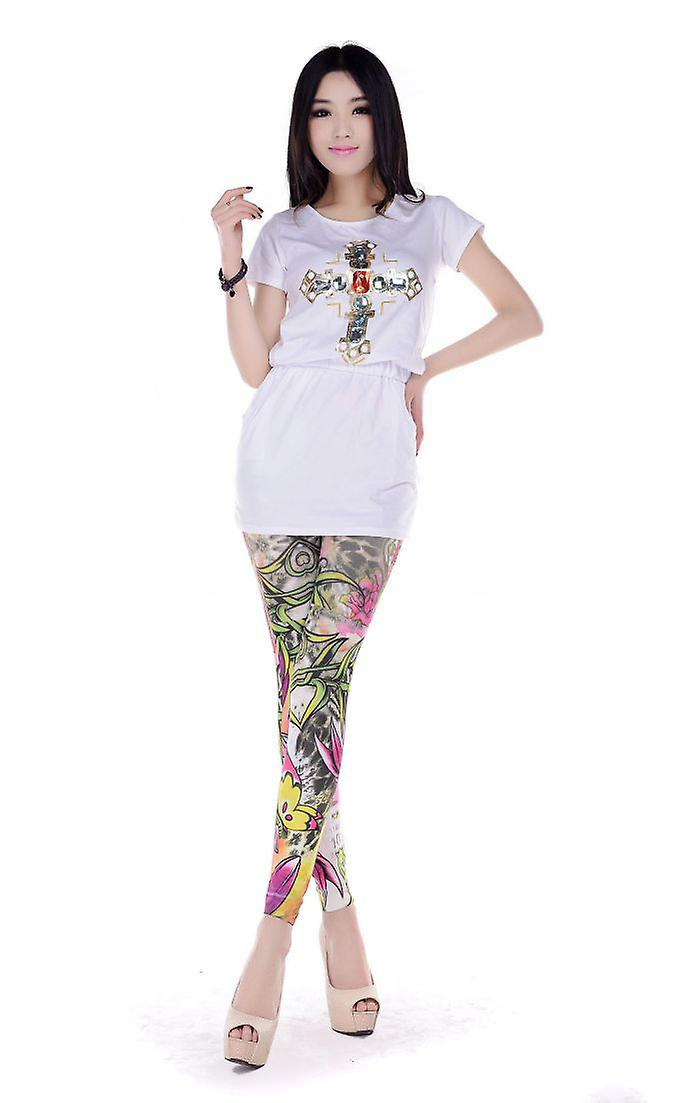 Waooh - Fashion - Leggings Pattern Floral And Nature Shando