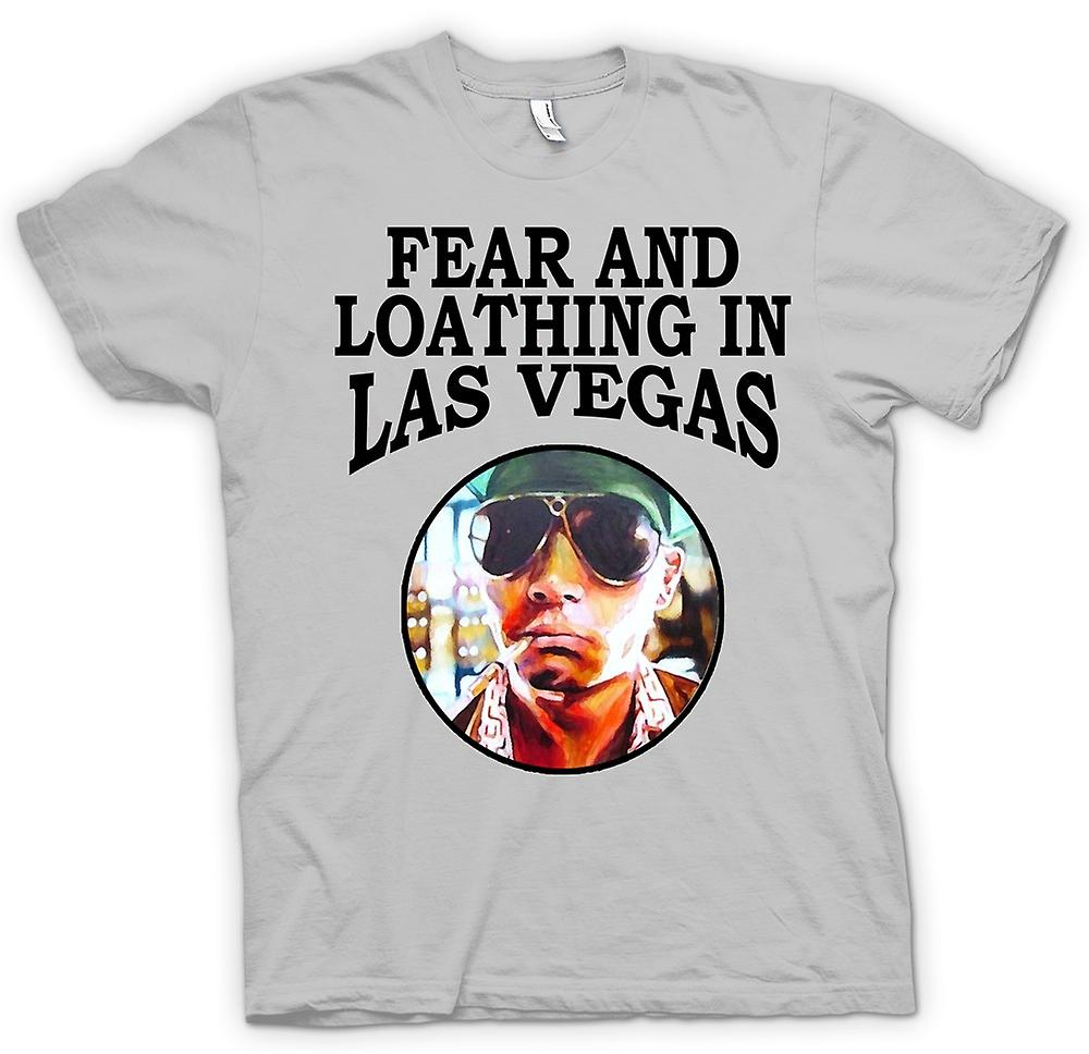 Heren T-shirt-angst Loathing - Hunter S Thompson Funny - film