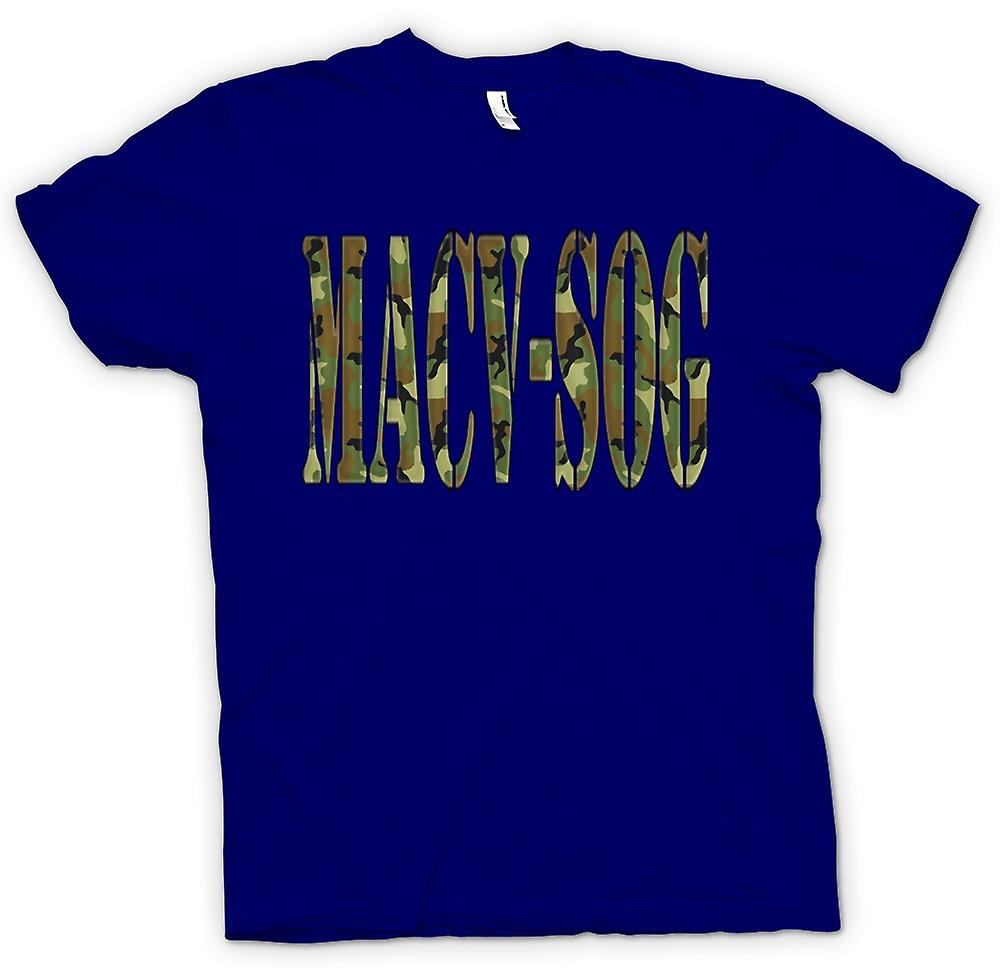 Mens T-shirt-MACV-SOG US Special Forces