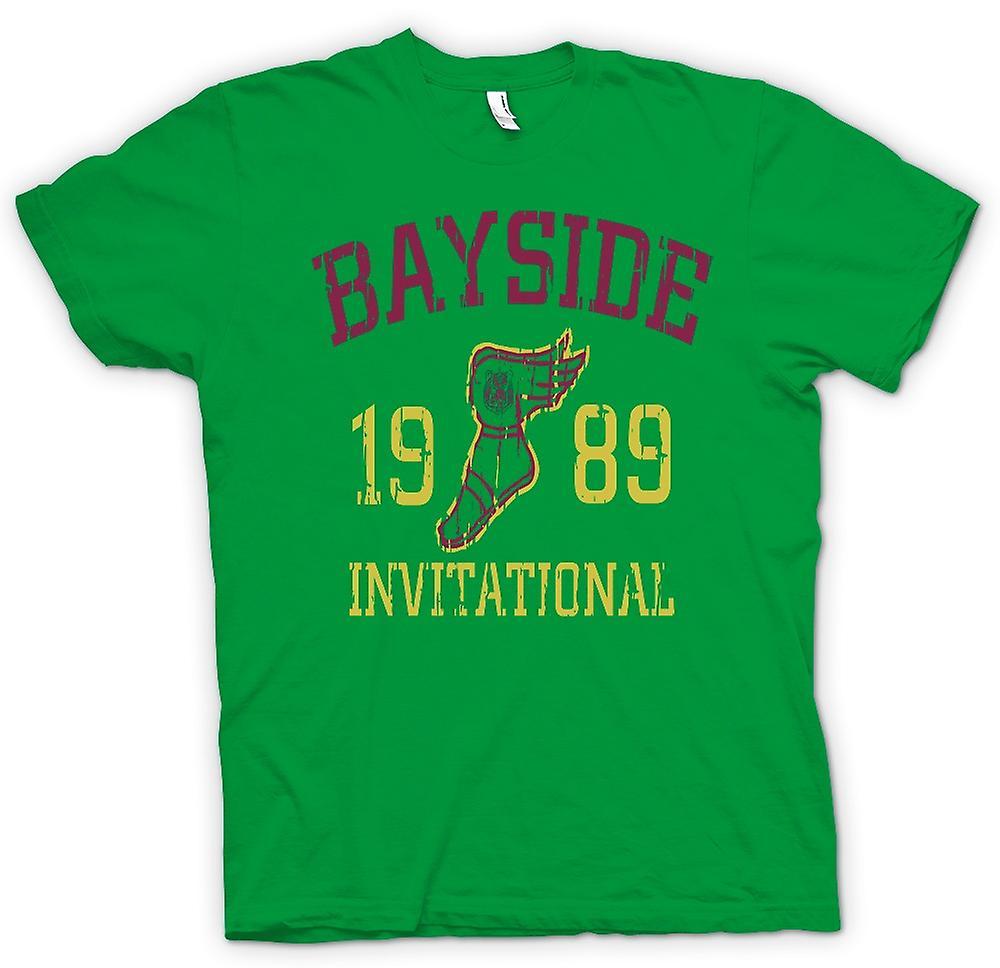 Mens T-shirt - Bayside Invitational 1989 - lustig