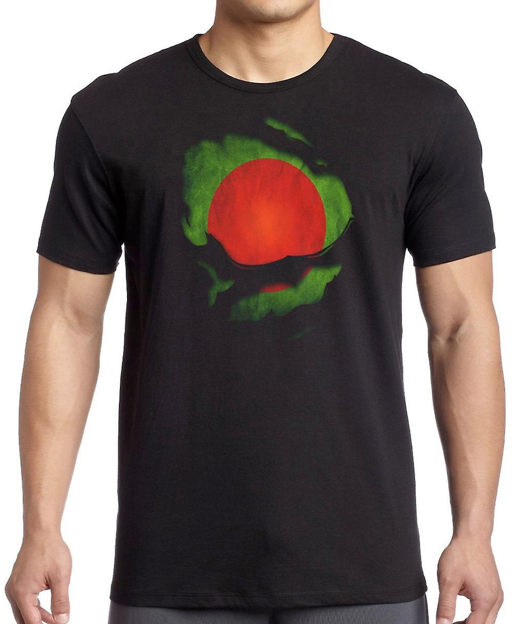 Bangladeshi Bangladesh Ripped Effect Under Shirt T Shirt