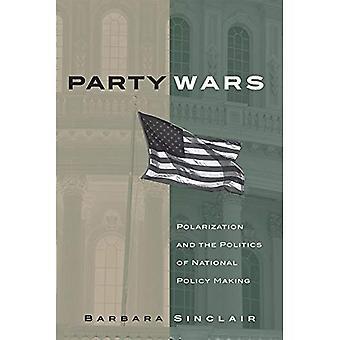 Guerre di partito: Polarizzazione e la politica del processo decisionale nazionale (Julian J. Rothbaum Distinguished Lecture)