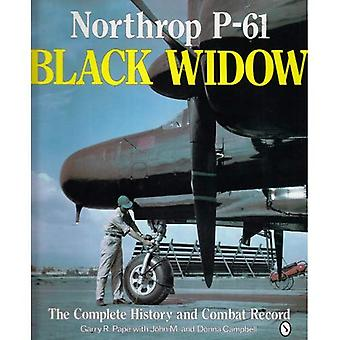Northrop P-61 Black Widow: Komplett historie og bekjempe post