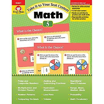 Ta den till din Seat Math Centers, årskurs 5