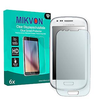 Samsung I8190 Galaxy S3 mini Crystal Edition Screen Protector - Mikvon Clear (Retail Package with accessories) (reduced foil)