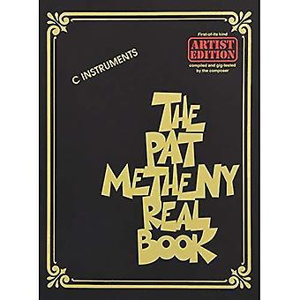 Pat Metheny Real kirja: Artist Edition C välineitä