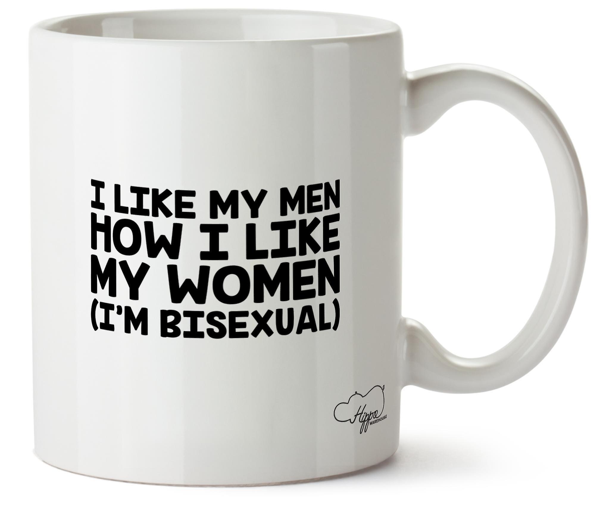 En 10oz Femmeje BisexuelleImprimé Hommes Mes Ma Tasse Comment Suis J'aime Céramique Hippowarehouse exQrWdoECB