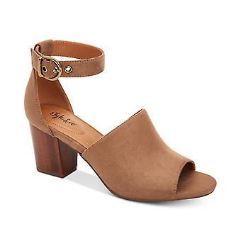 Style & Co. Womens Priyaa Peep Toe Casual Ankle Strap Sandals