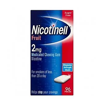 Nicotinell Gum 2Mg Fruit 96