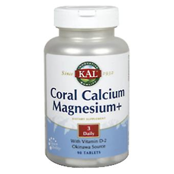 Solaray Coral Calcium Magnesium 90 Tablets