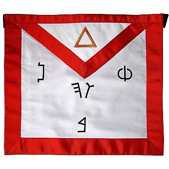 Masonic Fraternal Scottish Rite 6th Degree Intimate Secretary Regalia Apron-Satin
