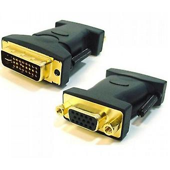 Astrotek DVI To VGA Adapter Converter Gold Plated