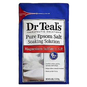 Dr teal's epsom salt soaking solution, magnesium sulfate u.s.p., 6 lbs