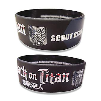Wristband - Attack on Titan - New Scouting Regiment Licensed ge54050