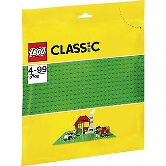 Clásico de LEGO base verde 1pc