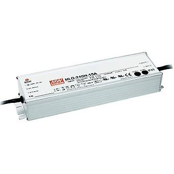 LED driver Constant current Mean Well HLG-240A-12A 192 W (max)