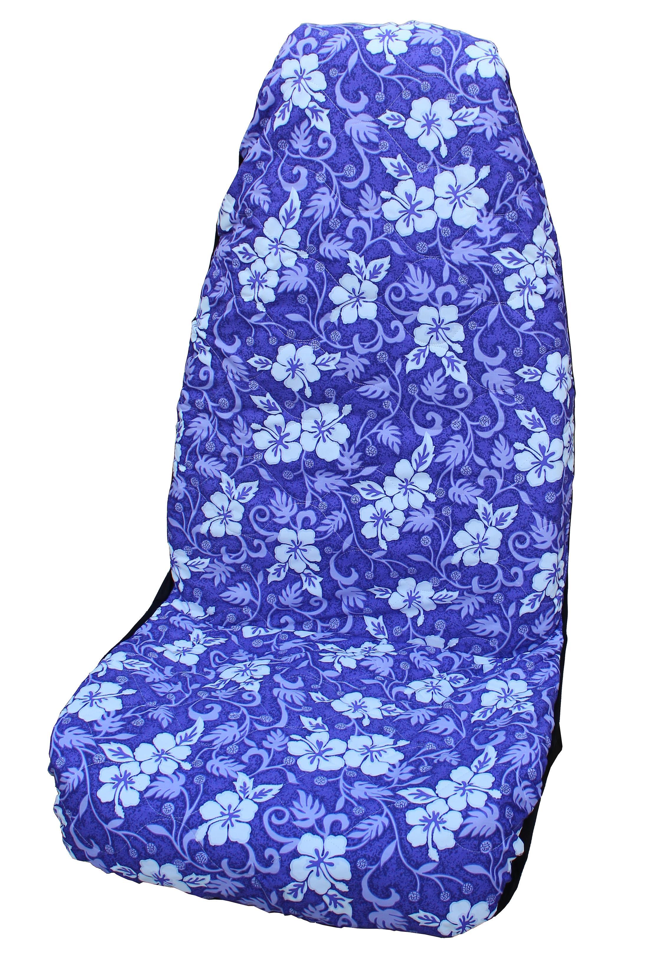 Side Airbag Optional; Ulu Fruit Hawaiian Car Seat Covers