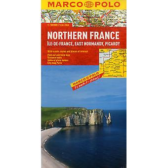 Northern France Marco Polo Map by Marco Polo