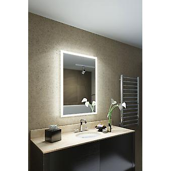Leanna Shaver Edge LED Bathroom Mirror Demister pad & sensor k8401v