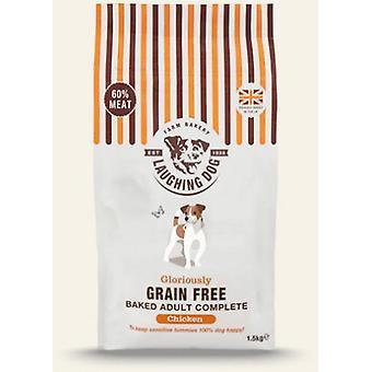Griner hund herlig korn gratis komplet kylling 10kg