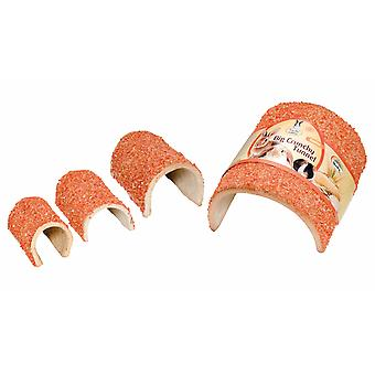 Quiko små dyr sprøde Tunnel mellemstore gulerødder 350g (pakke med 3)