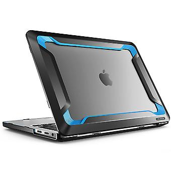Macbook Pro 13 Case 2016, i-Blason, Rugged Case, Slim Rubberized Cover with Touch Bar and Touch ID (Blue)