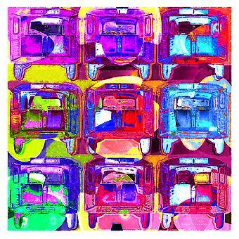 Automotive 07 plakat Print af Joost Hogervorst