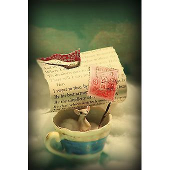 Little Dreamer plakat Print af Aimee Stewart