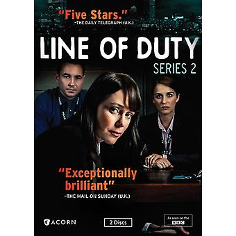 Line of Duty: Series 2 [DVD] USA import