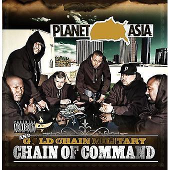 Planet Asia & guld Chain militær - kommandovej [CD] USA importerer