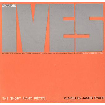 James Sykes - Charles Ives: The Short Piano Pieces [CD] USA import