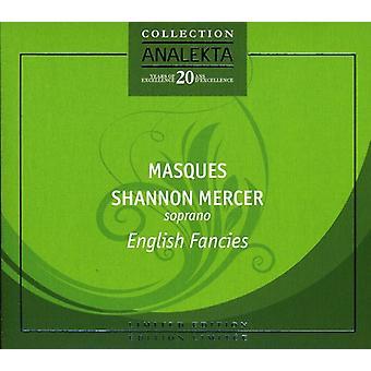 Shannon Mercer - engelsk fantasier [CD] USA import