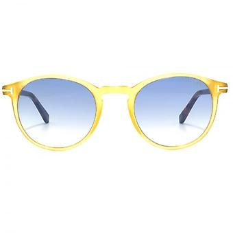 Tom Ford Andrea 02 Sunglasses In Yellow